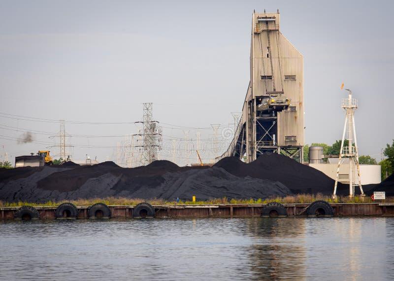 Kohle abgefeuerte elektrische Anlage stockfoto