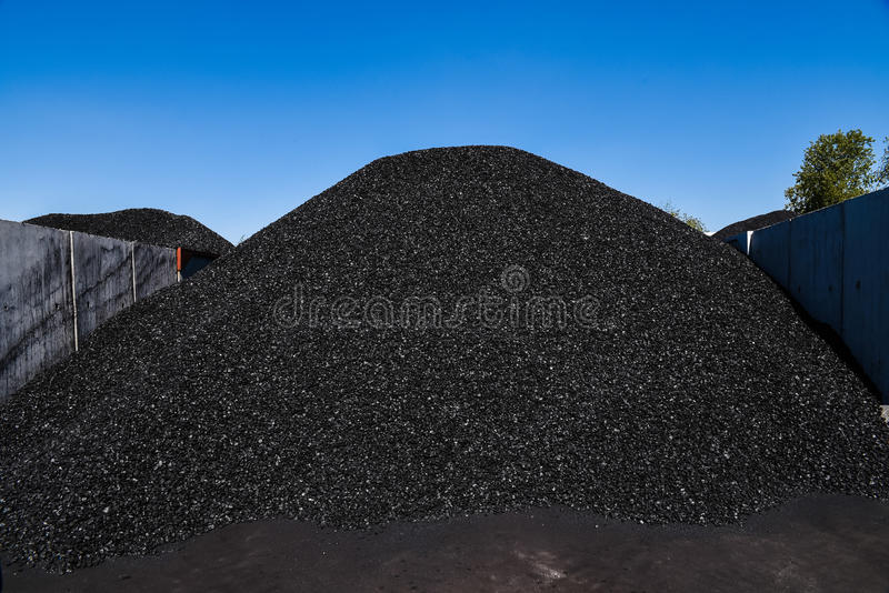 Kohle für Verkauf lizenzfreies stockfoto