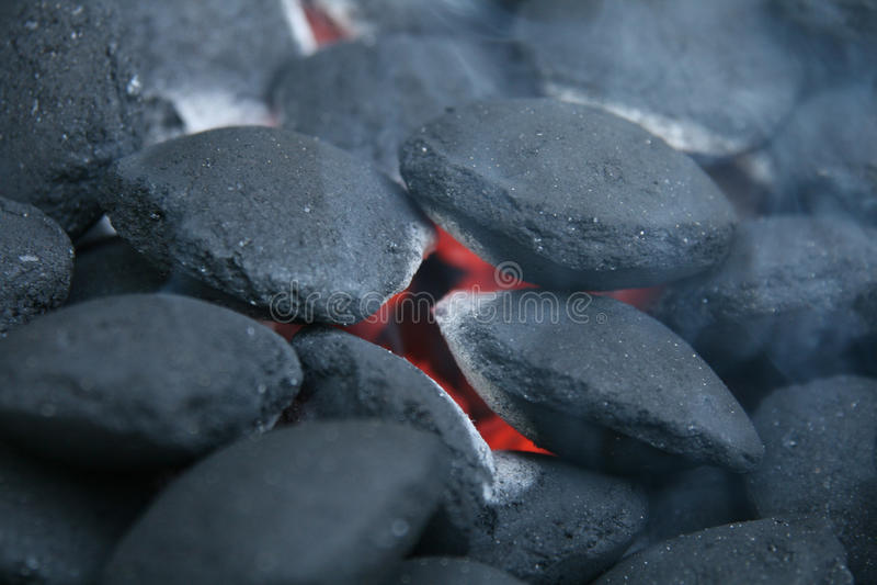Kohle-Feuer stockfotografie