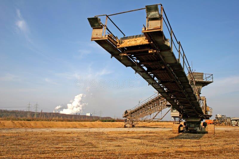 Kohle Fließband Lizenzfreies Stockbild