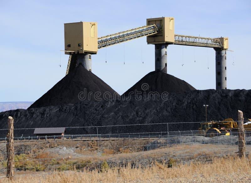 Kohle-Vorrat lizenzfreies stockbild