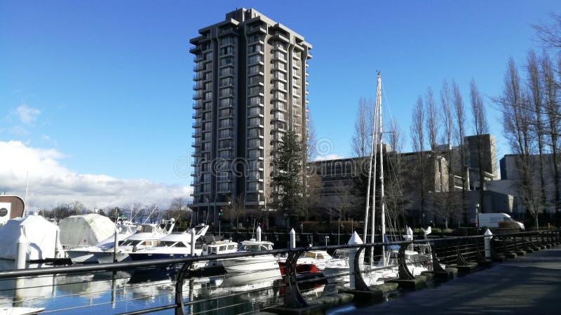 Kohlen-Hafen Westin Bayshore stockbilder
