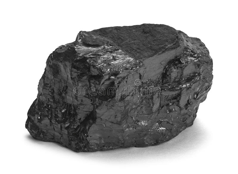 Kohlen-Stück lizenzfreies stockbild