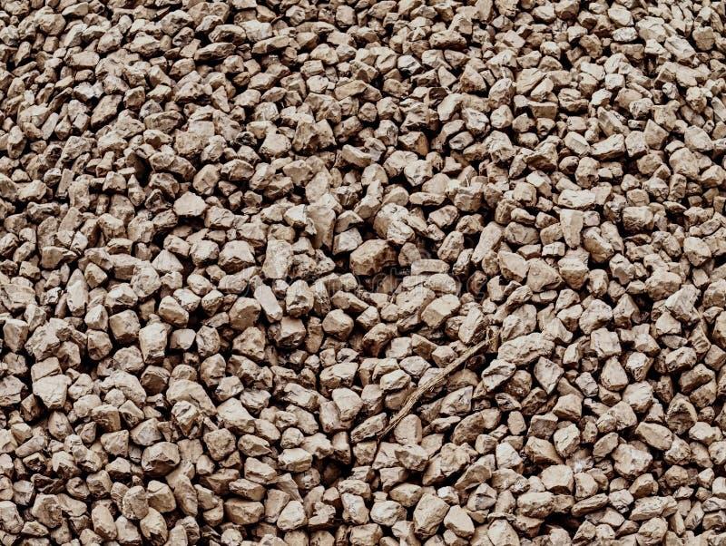 Kohlen von der Kohlengrube stapeln bereites zum Transport Zerquetschter Anthrazit stockbild