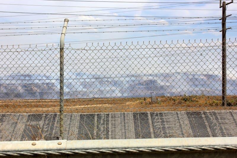 Kohlengrubefeuer in Australien lizenzfreies stockfoto