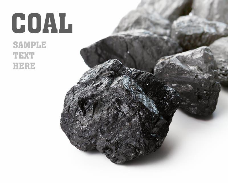 Kohlenklumpen lizenzfreie stockfotografie
