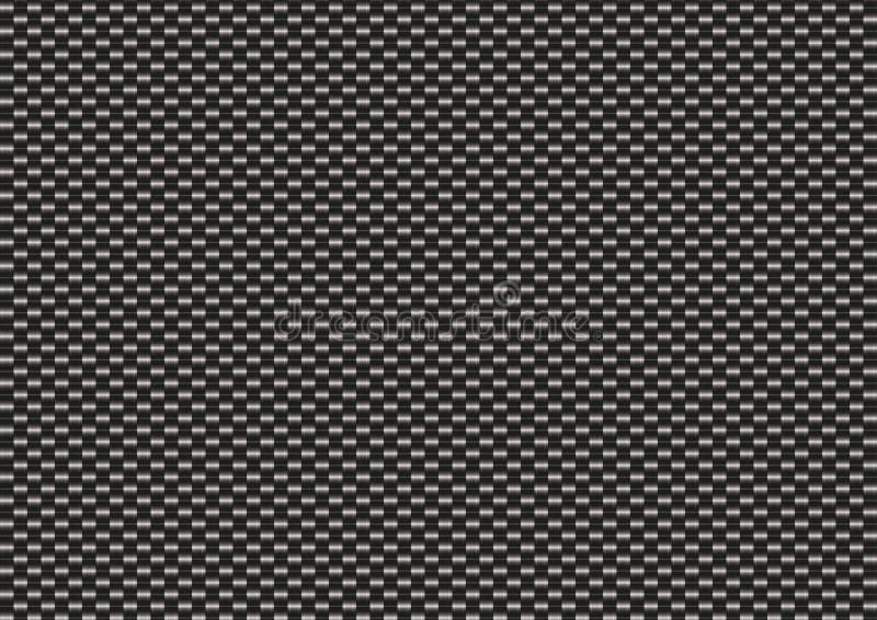 Kohlenstoff-Faser-Beschaffenheit vektor abbildung