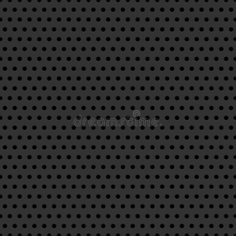 Kohlenstoff-Faser-Muster stock abbildung