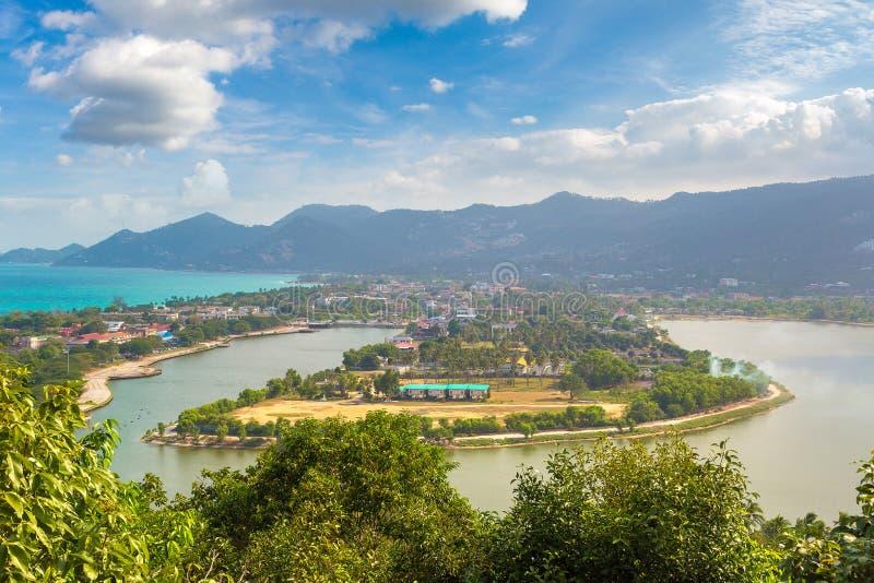 KohSamui ö, Thailand royaltyfria foton