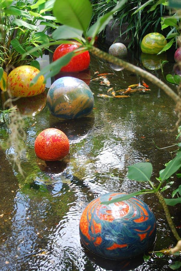 Download Koi Pond stock photo. Image of beautiful, botanical, gaze - 3157164