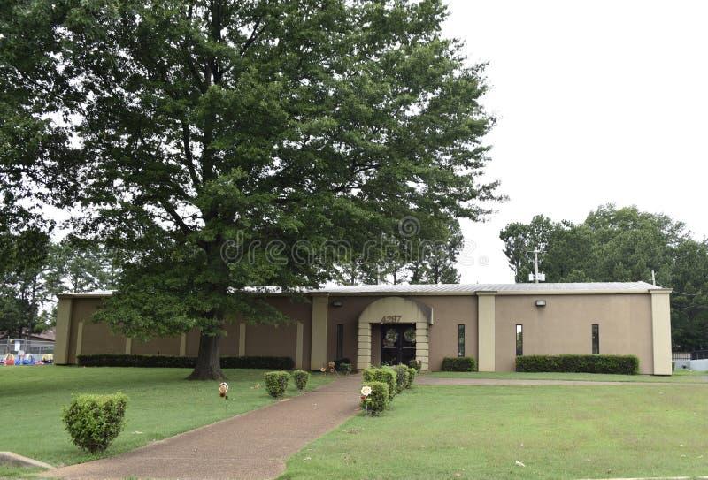 Koinonia Camp Ground Building, Memphis, Tennessee stock photo