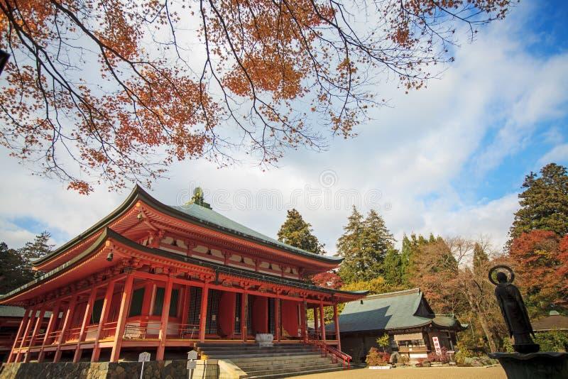 Kojyoin Tsukimido στο χωριό Achi, Ναγκάνο, Ιαπωνία στοκ εικόνα