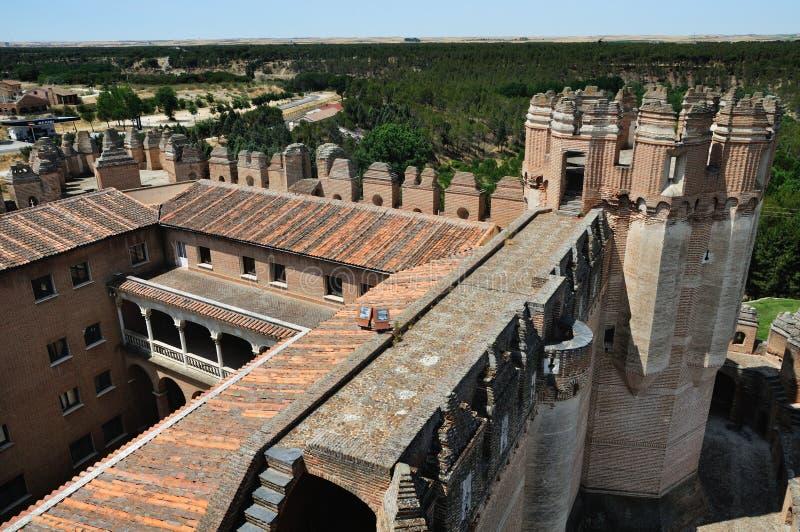 Koka Forteca (Wysoki Kąt) obrazy royalty free