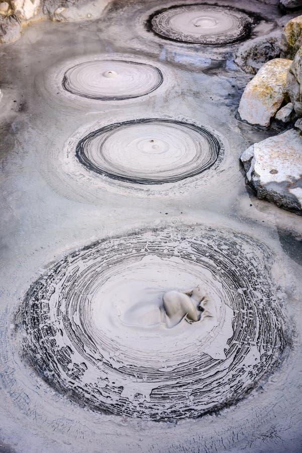 Koka Hot Springs av Beppu Japan royaltyfria bilder