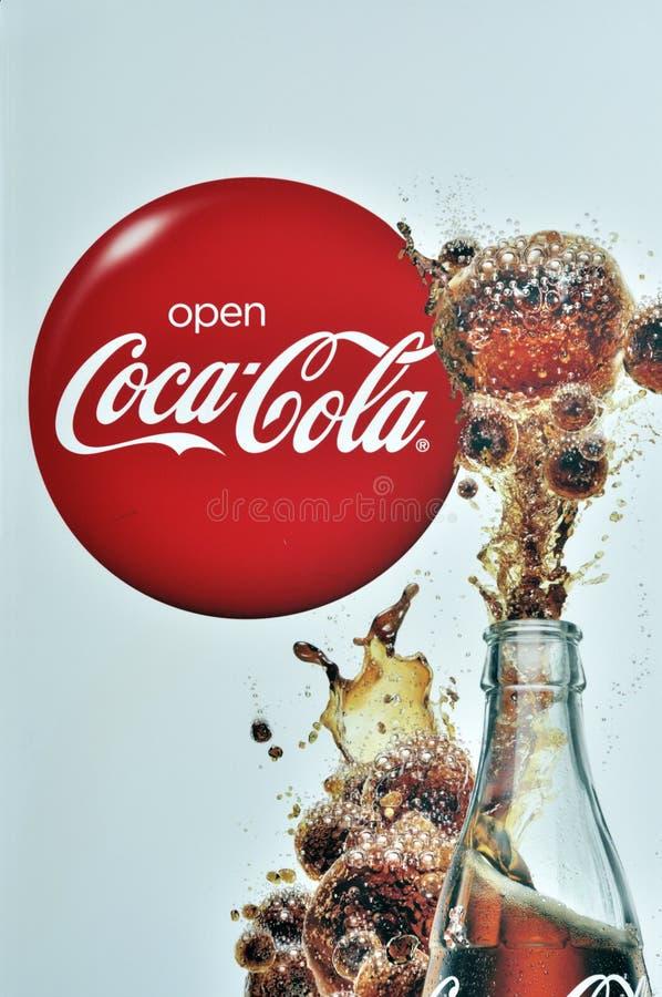 koka-kola obraz royalty free