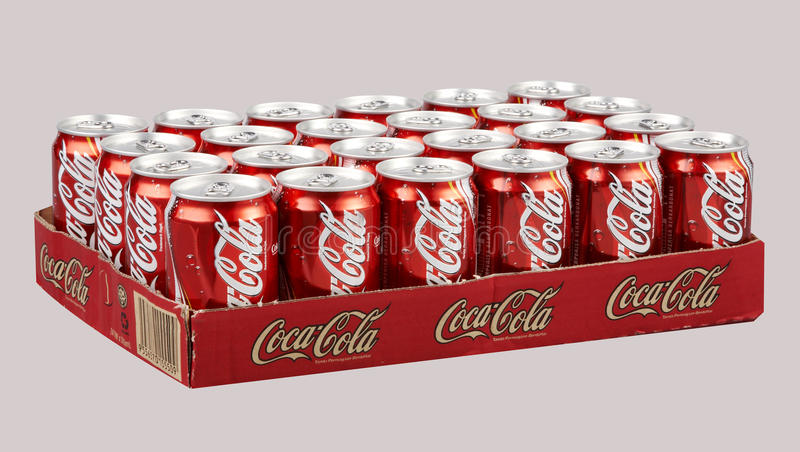 Koka-kola obrazy royalty free