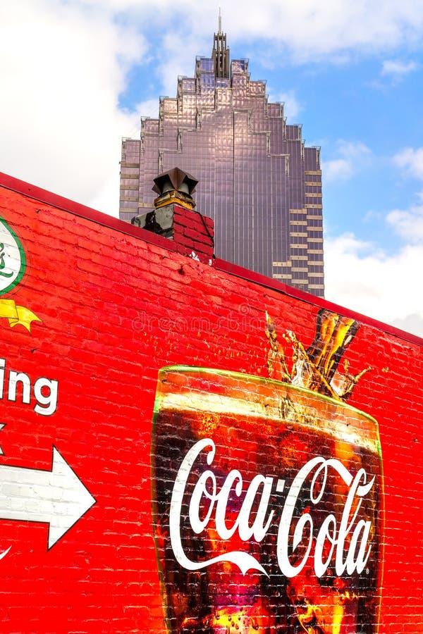Koka-kola, Atlanta, Gruzja fotografia stock
