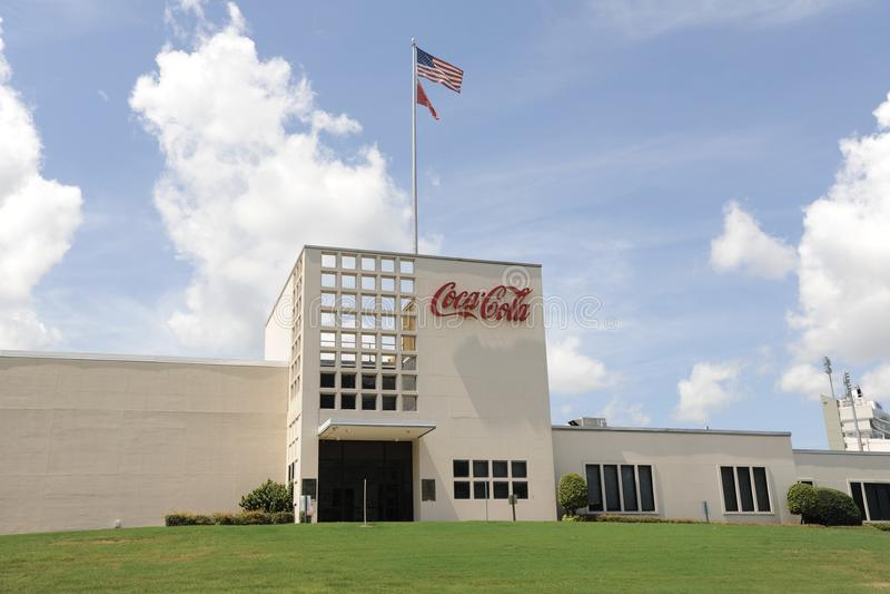 Koka-kola buduje Memphis, TN obraz royalty free