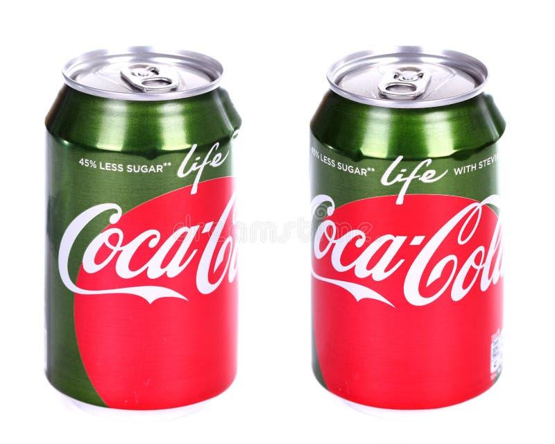 koka-koli życie zdjęcia royalty free
