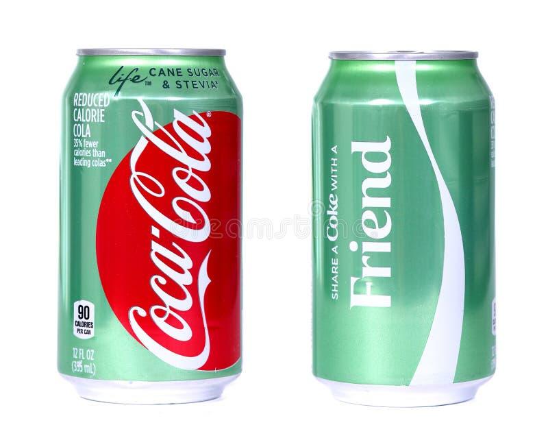 koka-koli życie zdjęcia stock