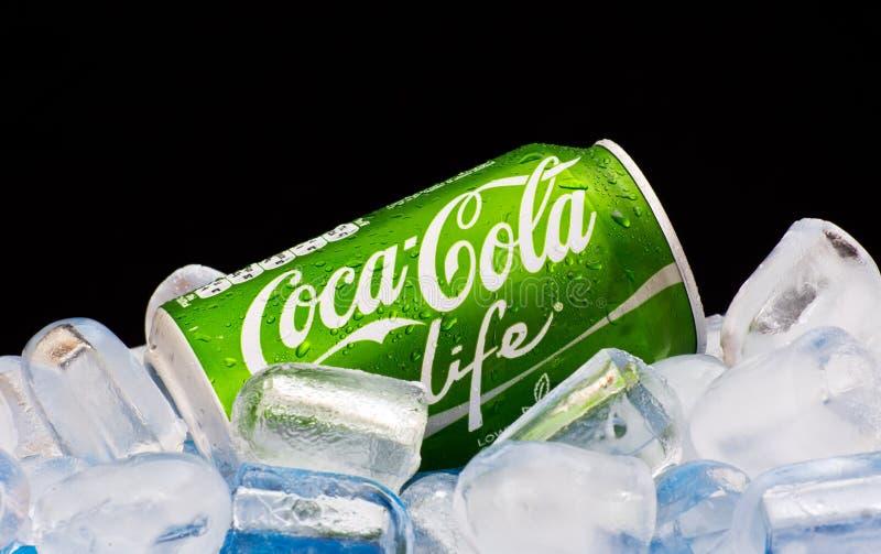 Koka-koli życie obraz stock
