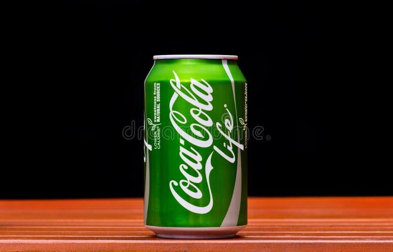 Koka-koli życie fotografia royalty free