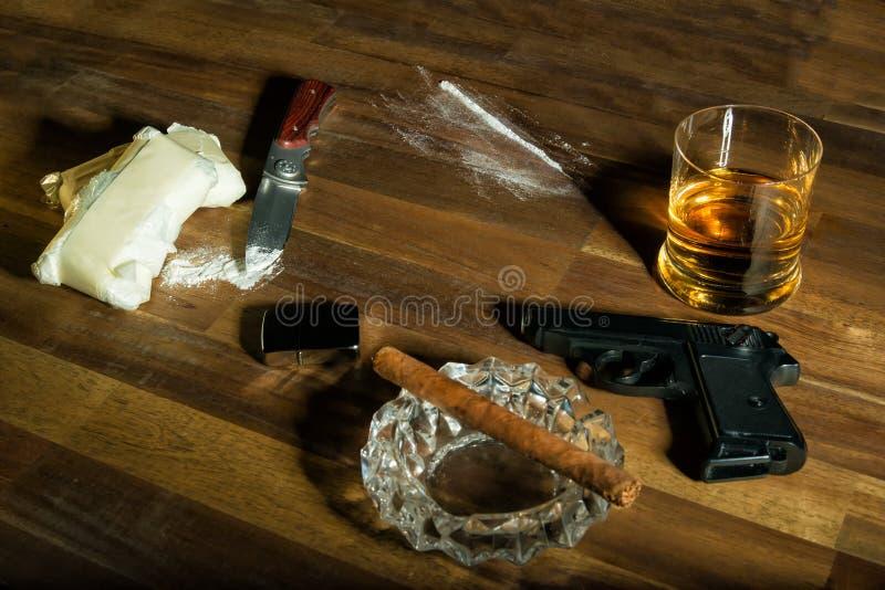 kokain royaltyfri bild