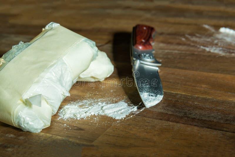 kokain royaltyfria bilder