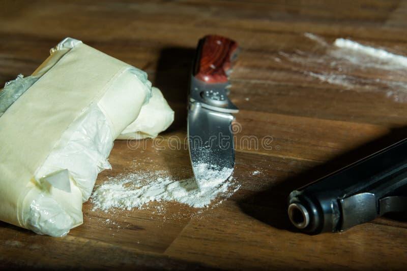 kokain arkivfoton