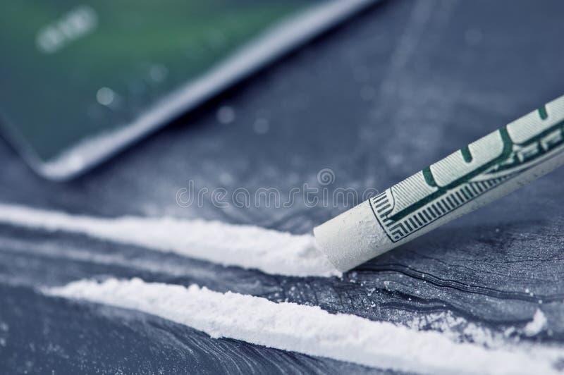 kokaina fotografia stock
