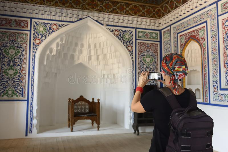 Kokand, Oezbekistan, Zijderoute stock afbeeldingen