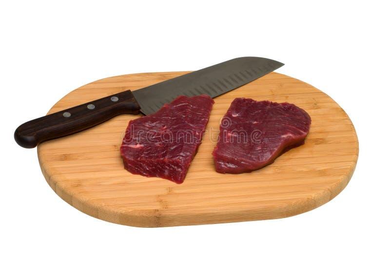 Kokend vlees. stock fotografie