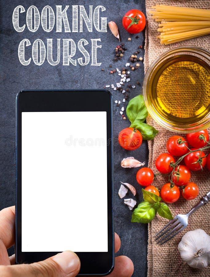 Download Kokende ingrediënten stock foto. Afbeelding bestaande uit reclame - 54083426