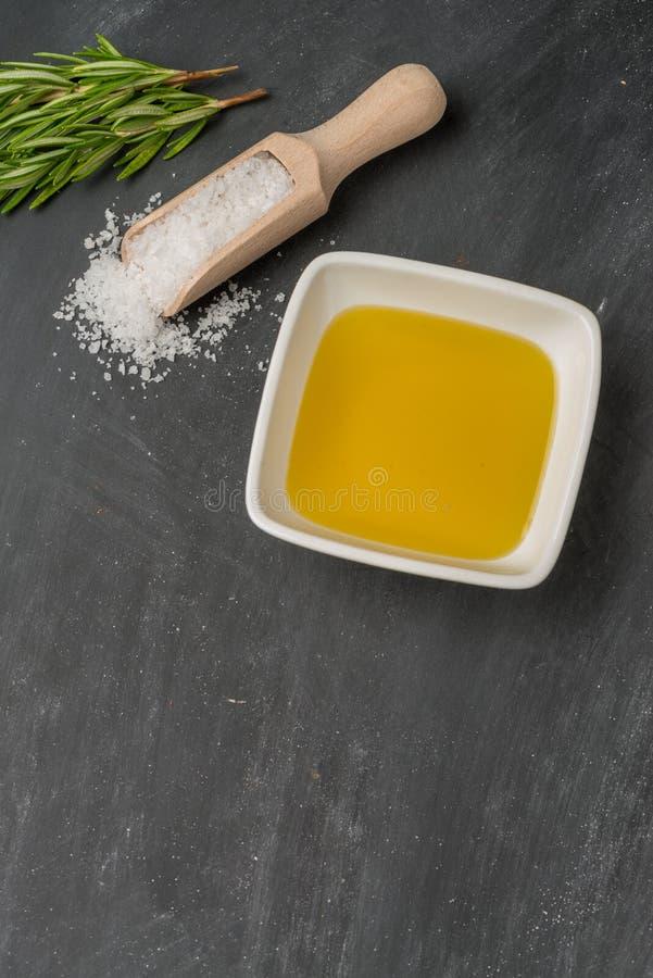 Kokende ingrediënten voor mediterrane keuken royalty-vrije stock fotografie