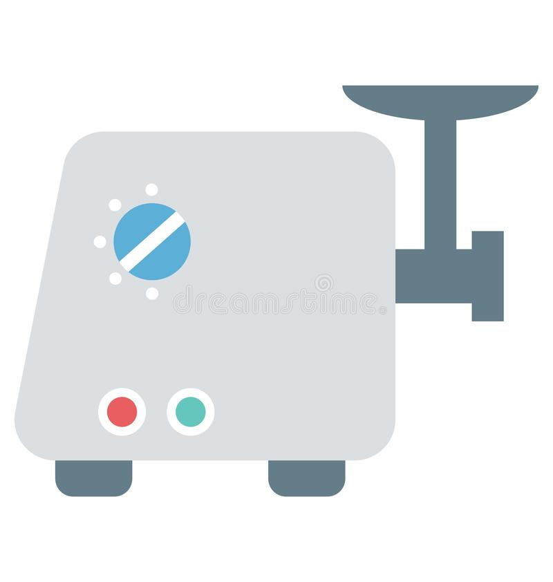 Kokende pan, cookware, keukenpot, steelpan, braadpan vector illustratie