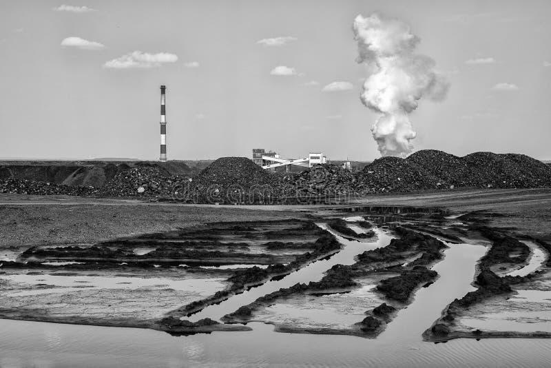Kokerei der Kohle lizenzfreies stockfoto