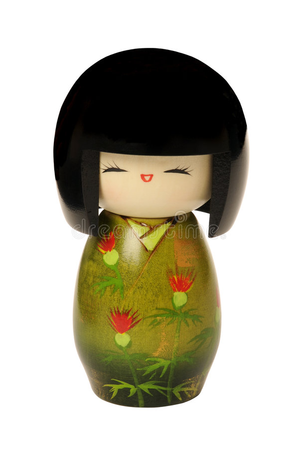 Kokeshi doll royalty free stock photography