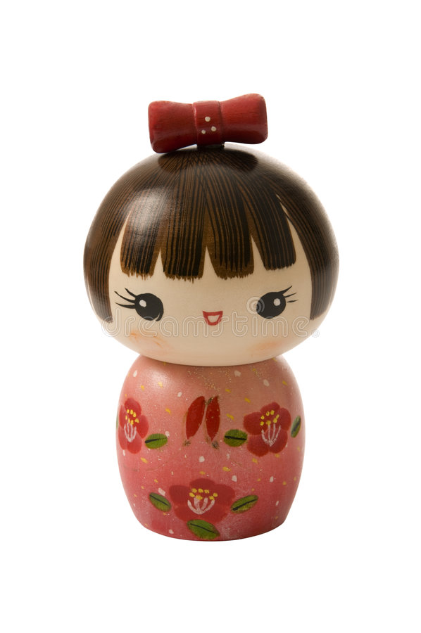 Download Kokeshi doll stock image. Image of asia, folk, woman, view - 6043665