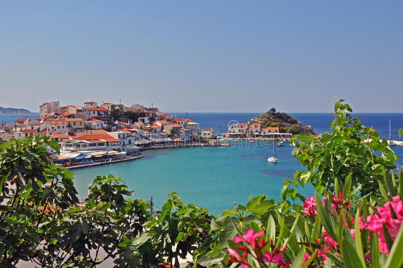 Kokkari-Strand Samos, Griechenland lizenzfreies stockfoto
