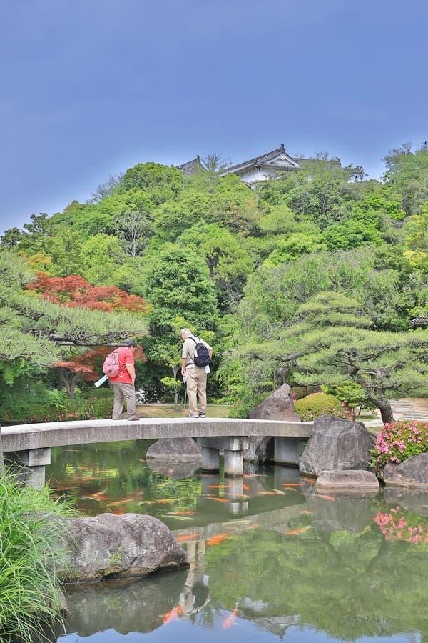 Koko en-Garten in Himeji, stockfotos