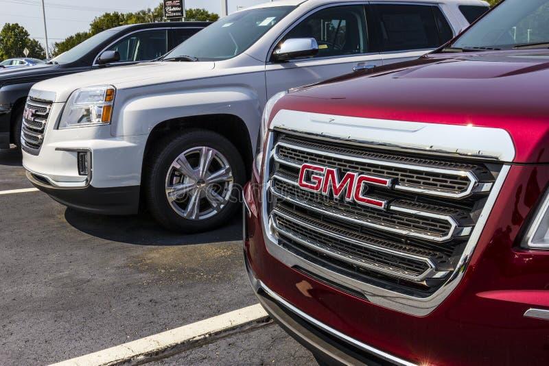 Kokomo - circa im September 2017: GMC- und Buick-LKW und SUV-Verkaufsstelle GMC und Buick sind Abteilungen von GR. V stockbild