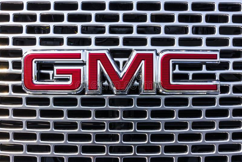Kokomo - Około Wrzesień 2017: GMC i Buick ciężarówka i SUV przedstawicielstwo handlowe GMC i Buick jesteśmy podziałami GM Ja zdjęcie stock