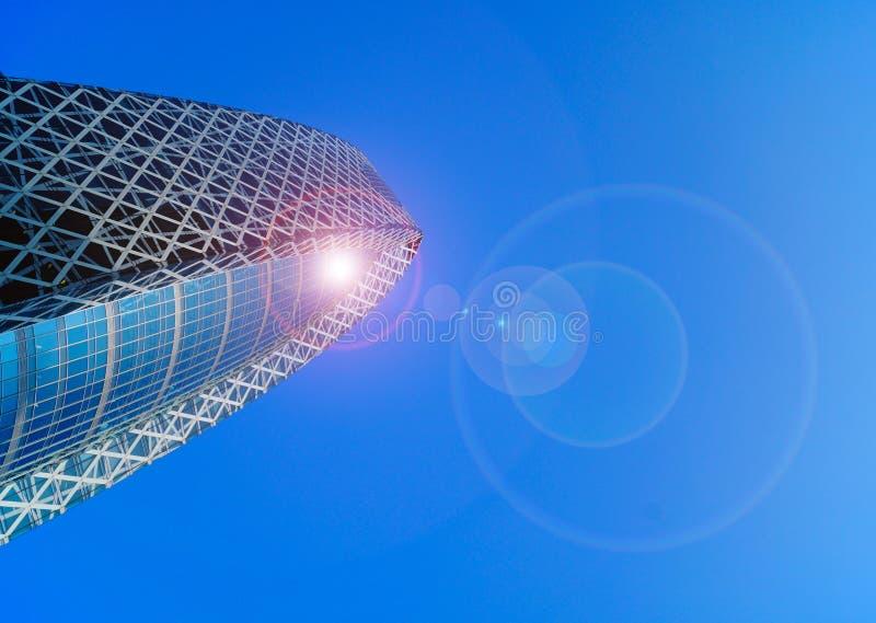 Kokongtorn Shinjuku, Tokyo arkivbild