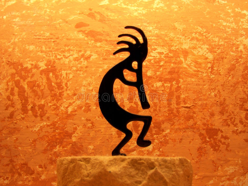 Kokopelli illustration de vecteur