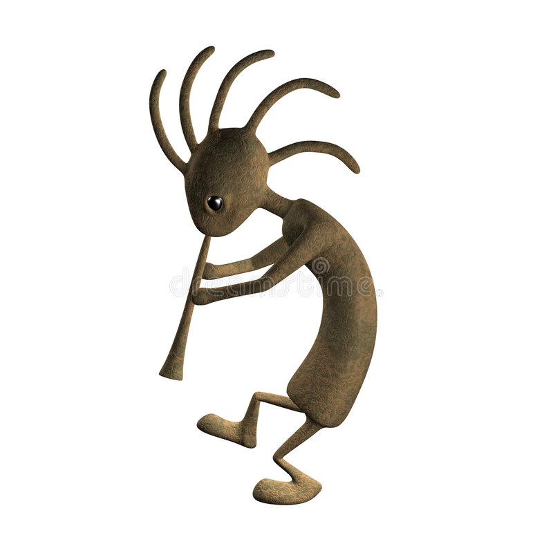 Kokopelli Dirt vector illustration