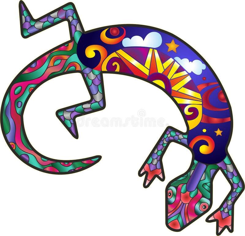 Free Kokopelli Lizard Stock Images - 54006814
