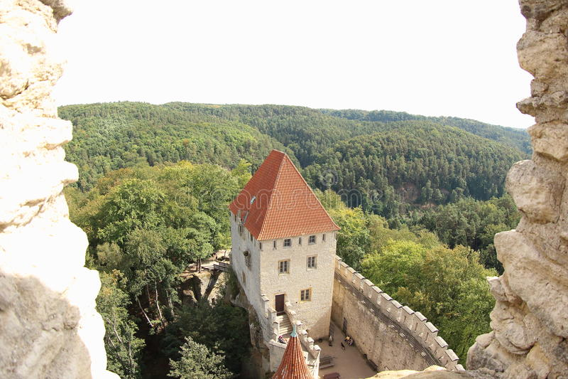 Kokorin Castle, Czech Republic royalty free stock photo
