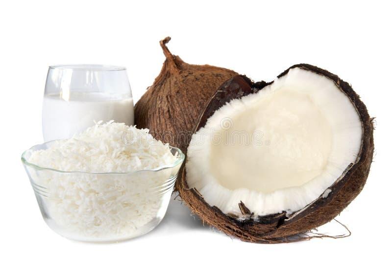 kokosnöt arkivbilder