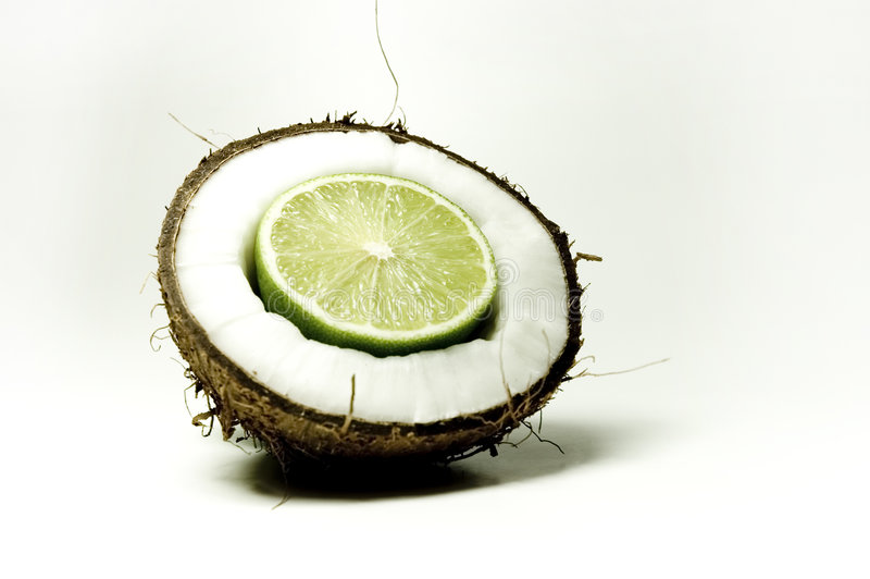 Kokosnoot 6 stock foto