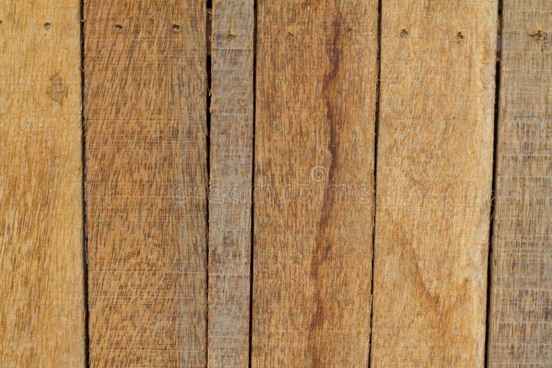 Kokosnoten Houten Achtergrond royalty-vrije stock afbeeldingen